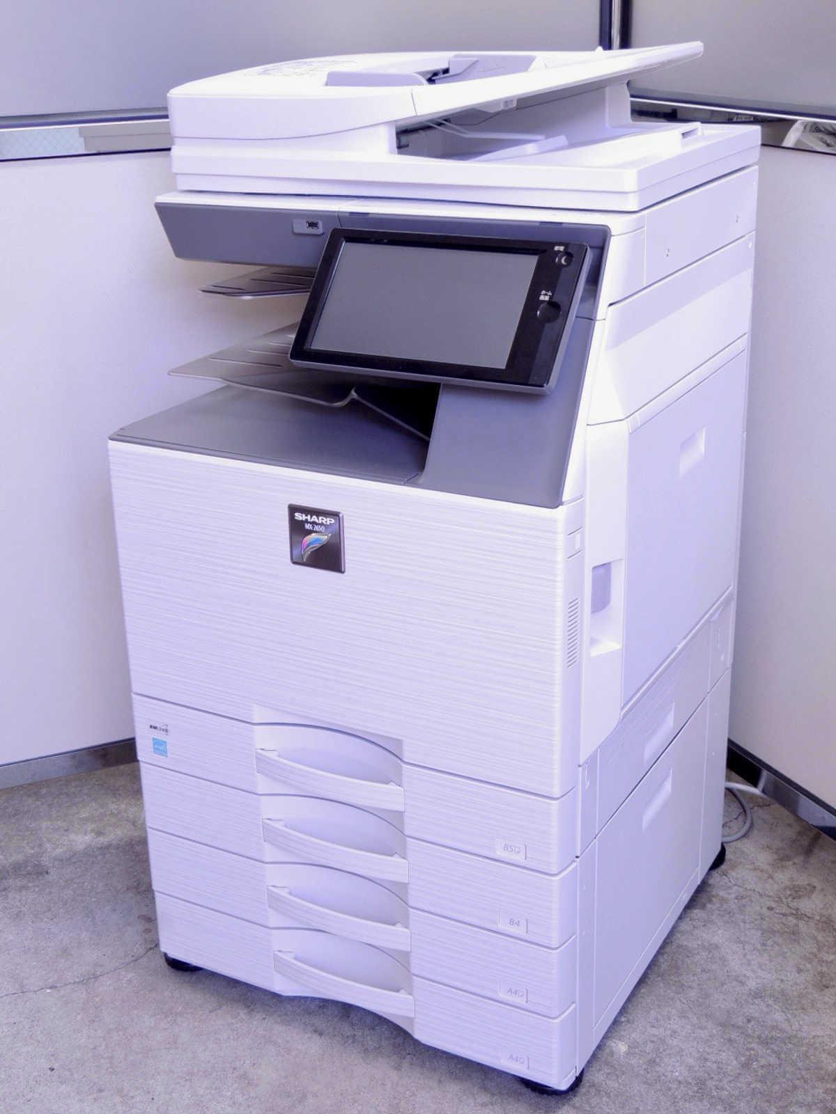 MX-3650FN(SHARP)中古カラー複合機・中高速・A3・Mac対応・AirPrint【コピヤス】