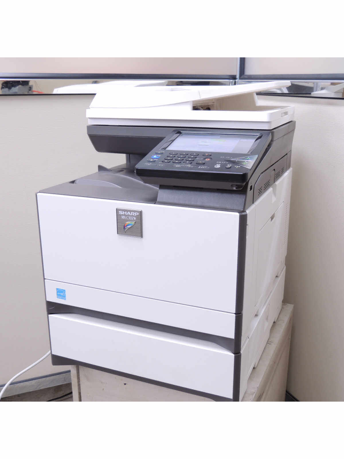 SHARP MX-C302W−中古カラー複合機、A4卓上、Mac対応、2段給紙