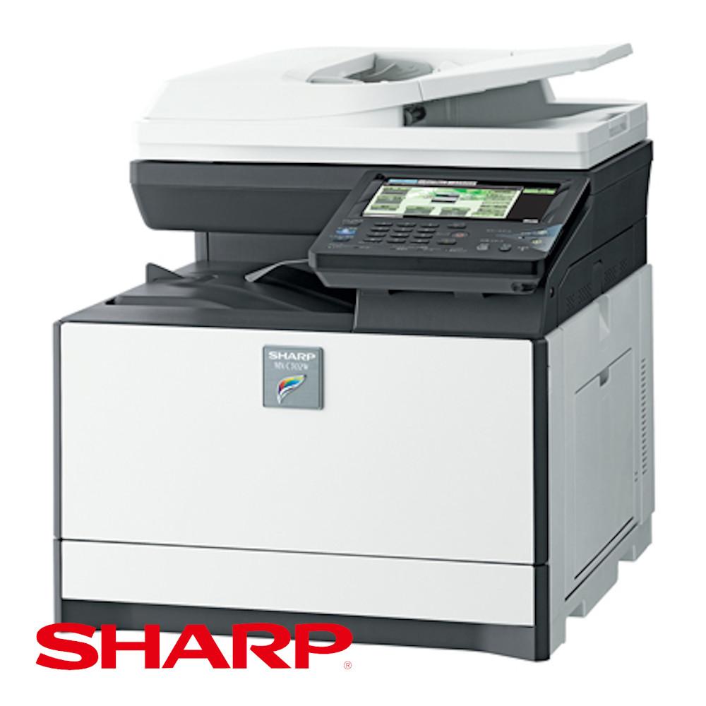 MX-C302W(SHARP)A4卓上新品カラー複合機 リース購入【コピヤス】