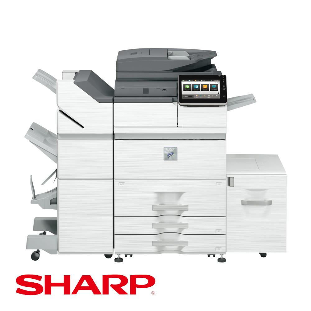 MX-M7570(SHARP)新品モノクロ複合機 リース購入【コピヤス】